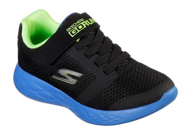 Skechers GORun 600 - Roxlo Kinder Sneaker (Schwarz-BBLM)