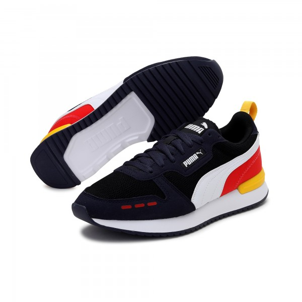 Puma R78 Runner Herren Sneaker 373117 (Schwarz 26)