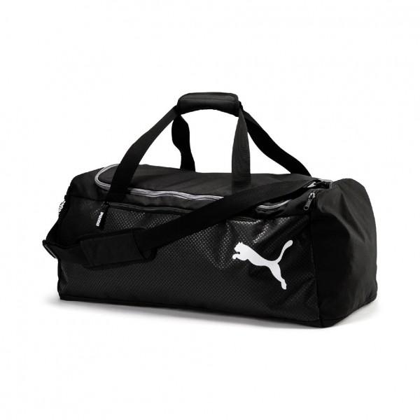 Puma Fundamentals Sports Bag M 075528 (black 01)