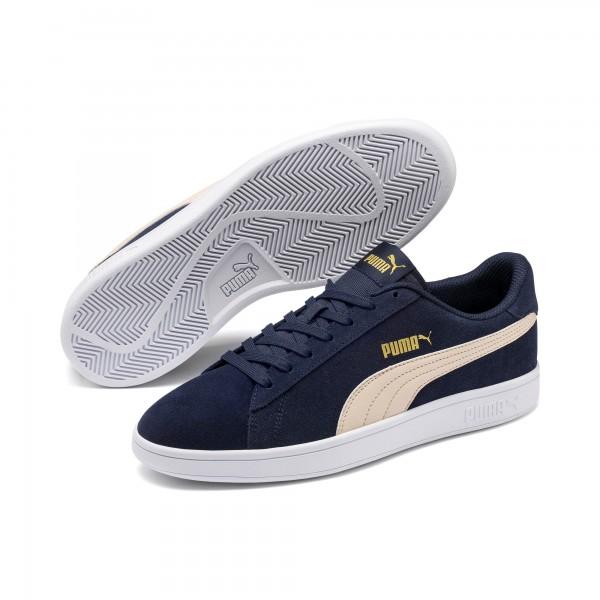 Puma Smash v2 Herren Sneaker 364989 (Blau 37)