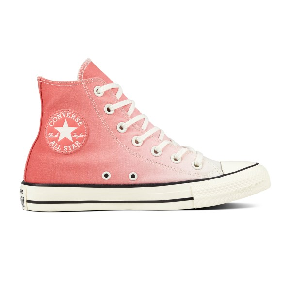 Converse CTAS Ombre Wash Hi Damen Sneaker 561722C(Orange)
