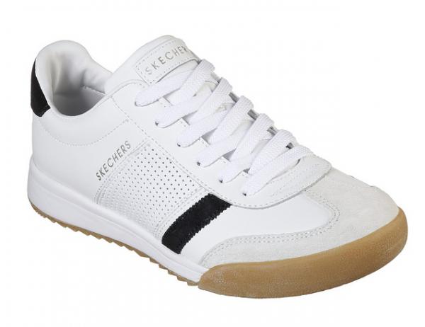 Skechers Zinger Retro Rockers Damen Sneaker (Weiß-WBK)