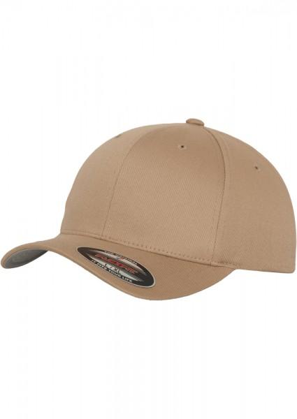 Flexfit Wooly Combed Baseball Cap (Khaki 00472)