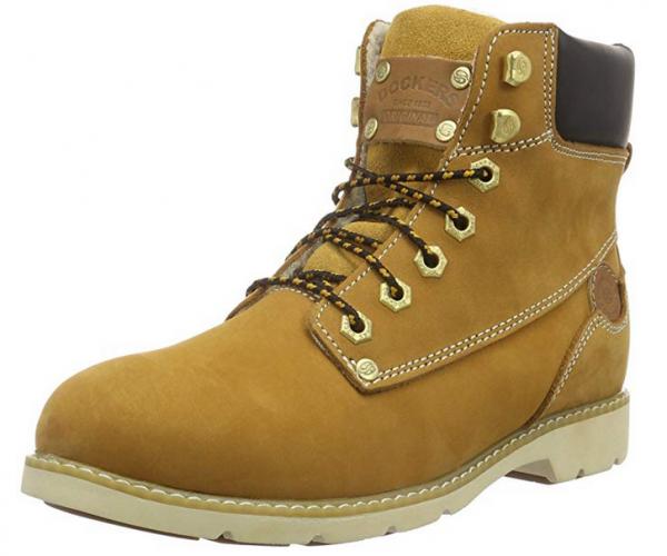 Dockers Damen Stiefel 39SI302-302 (Braun 910)