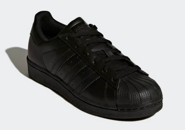 Adidas Superstar Foundation J Sneaker B25724 (Schwarz)