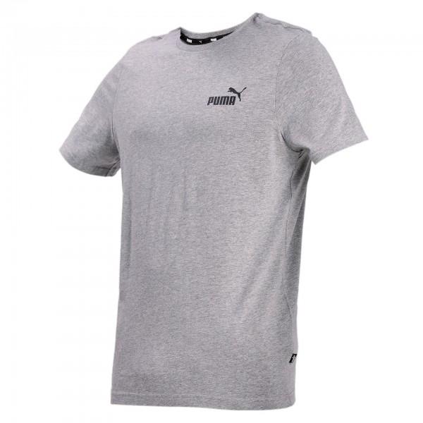 Puma ESS Small Logo Tee Herren T-Shirt 586668 (Grau 03)
