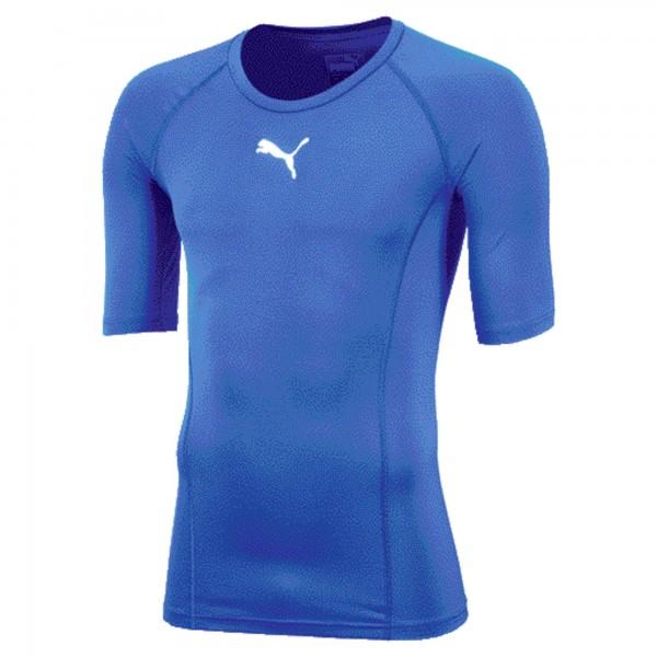Puma LIGA Baselayer TEE SS Herren T-Shirt 655918 (Blau 02)