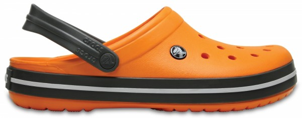 Crocs Crocband Clog (Blazing Orange/Slate Grey)