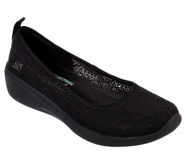 Skechers Arya - Airy Days Damen Schuhe 23758 (Schwarz-BBK)