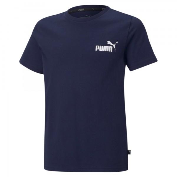 Puma ESS Small Logo B Kinder T-Shirt 586961 (Blau 06)