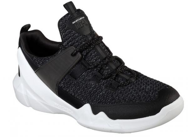 Skechers D'Lites - DLT-A Herren Sneaker (Schwarz-BLK)