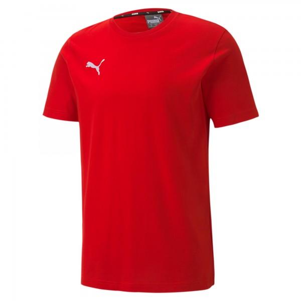 Puma TeamGOAL 23 Casuals Tee Herren T-Shirt 656578 (Rot 01)
