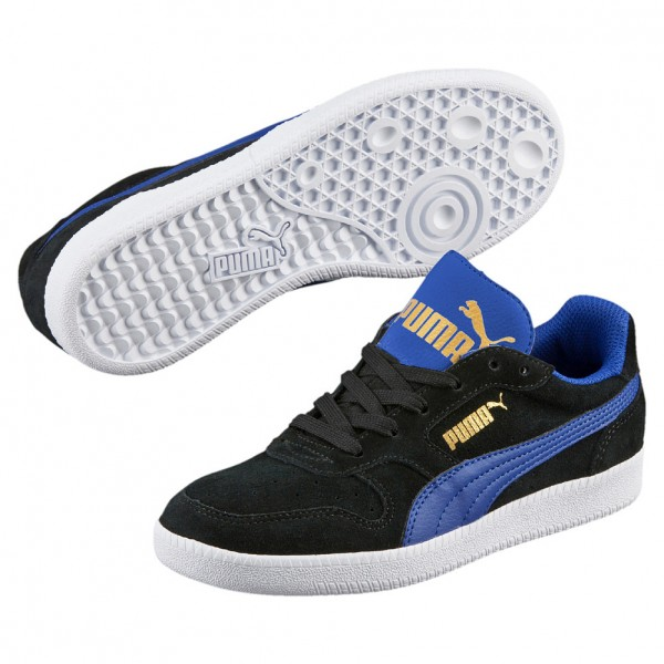 Puma Icra Trainer SD Jr Kinder Sneaker 358885 (black-blue 10)
