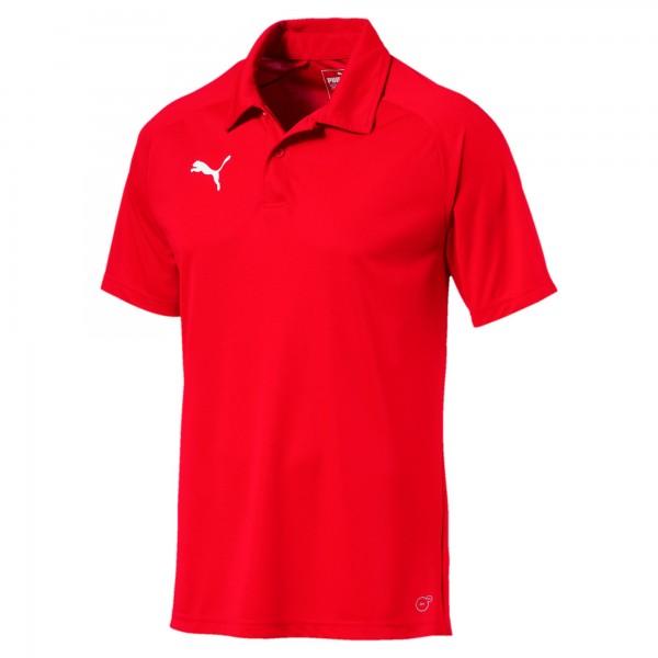 Puma LIGA Sideline Herren Poloshirt 655608 (Rot 01)