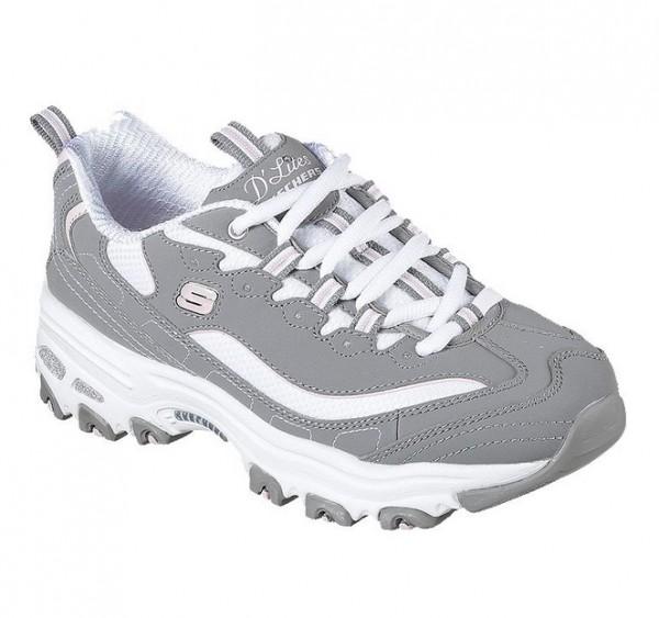 Skechers D'Lites Me Time Damen Sneaker 11936 (Grau GYW SuqxE