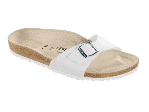 Birkenstock Madrid Damen Sandale normal 040731 (weiß)