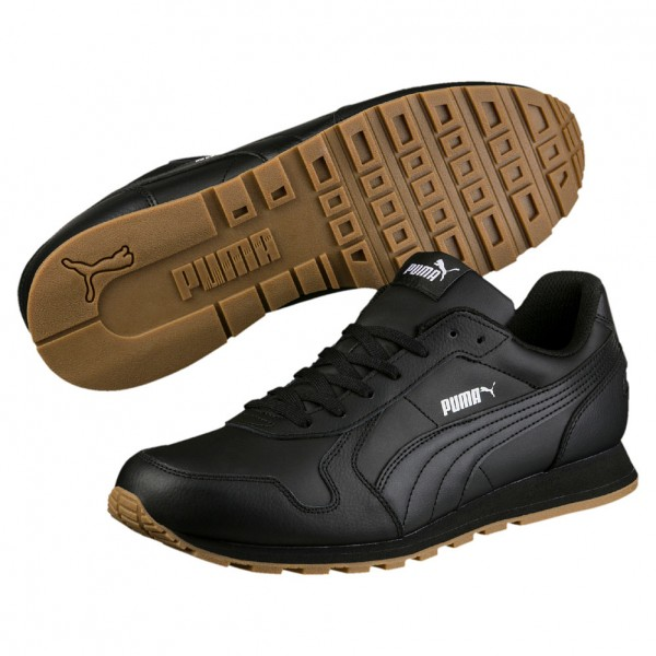 Puma ST Runner Full L Herrensneaker 359130 (black-black 08)