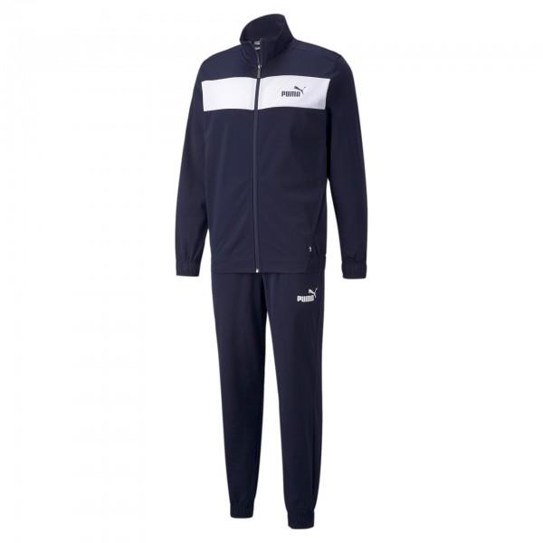 Puma Poly Suit CL / Herren Jogginganzug 845844 (Blau 06)
