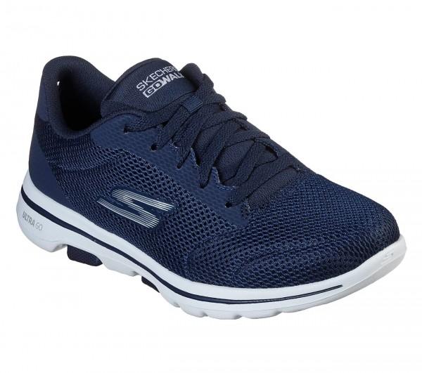Skechers GoWalk5 - Lucky Damen Sneaker 15902 (Blau-NVW)