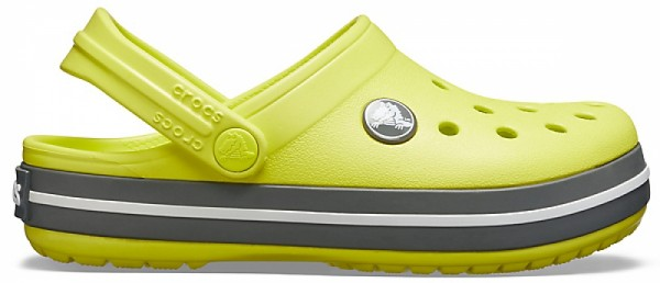 Crocs Crocband Kinder (Citrus/Slate Grey)