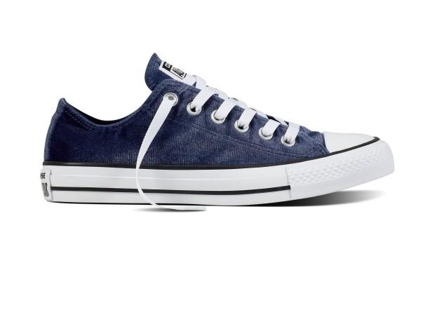 Converse Chucks Taylor All Star Ox Low Damen Sneaker 557991c (blau)