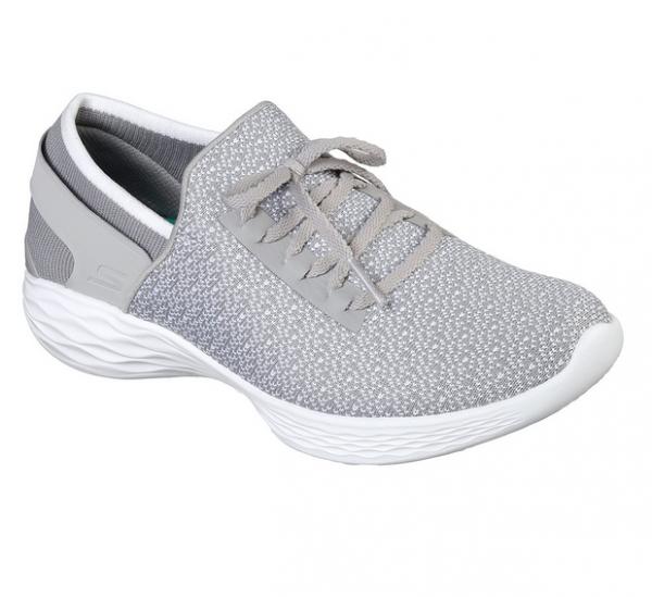 Skechers YOU - Inspire 14950 Damen Sneaker (Grau-GRY)