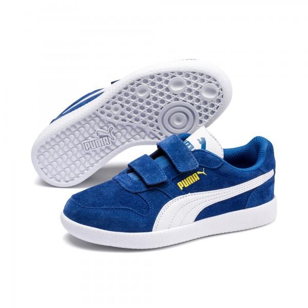 Puma Icra Trainer SD V PS Kinder Sneaker 360756 (Blau 31)