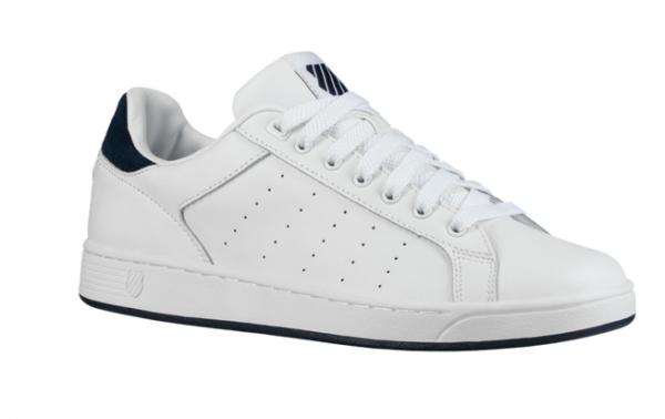 K-Swiss Clean Court CMF Herren Sneaker (Weiß/blau 167)