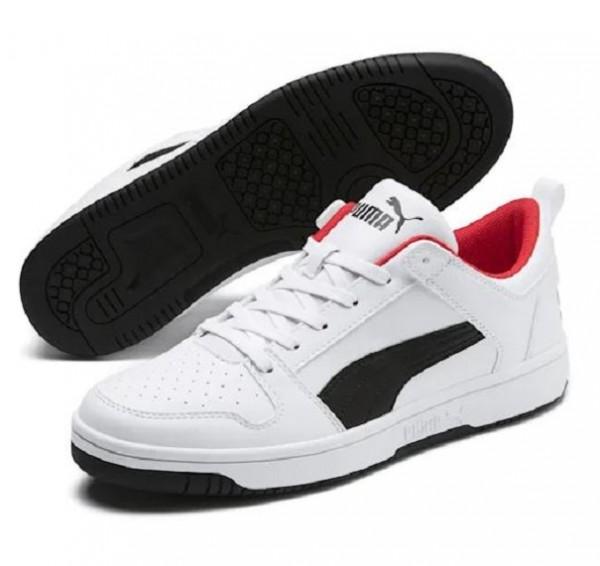 Puma Rebound LayUp Lo SL Herren Sneaker 369866 (Weiß 01)