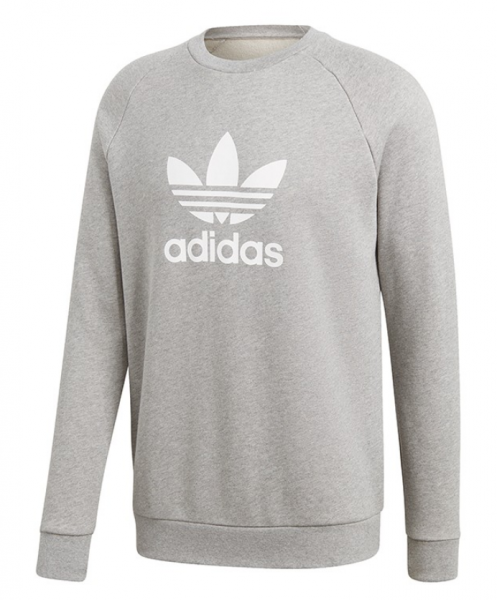 Adidas Trefoil Crew Herren Sweatshirt CY4573 (Grau)