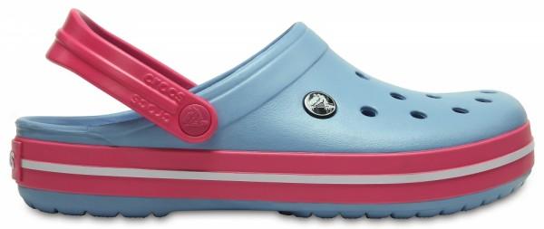 Crocs Crocband Clog (Chambray Blue/Paradise Pink)