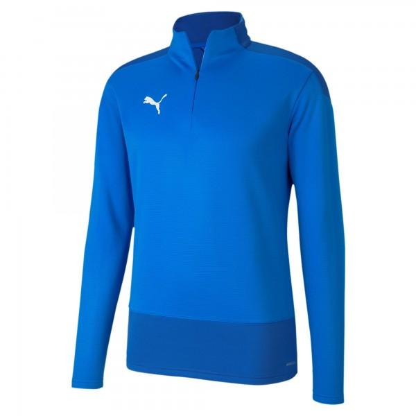 Puma TeamGOAL 23 Training 1/4 Zip Top Herren Pullover 656476 (Blau 02)