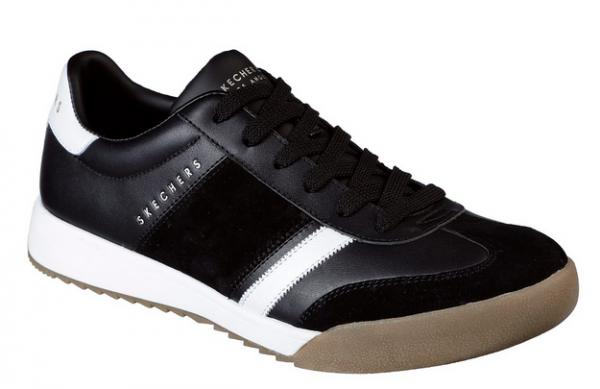 Skechers Zinger - Scobie Herren Sneaker 52322 (Schwarz/Weiß-BKW)