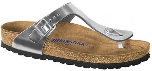 Birkenstock Gizeh NL SFB normal 1012226(Metallic Silver)