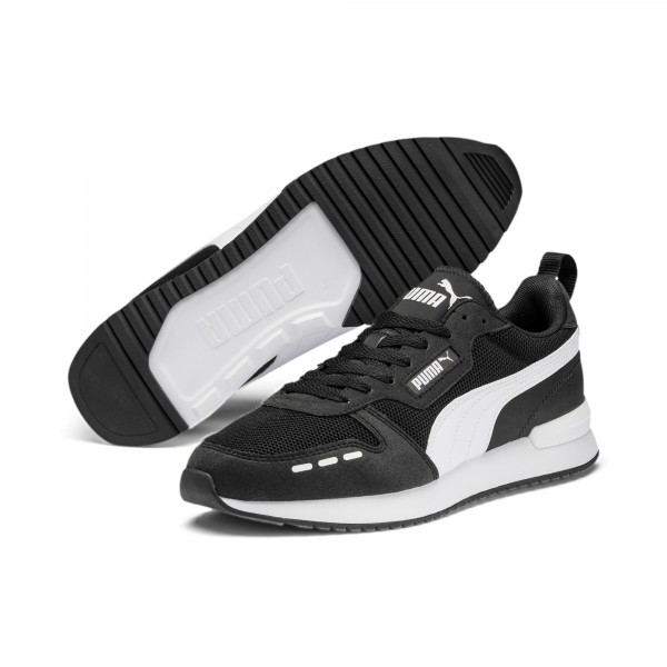 Puma R78 Runner Herren Sneaker 373117 (Schwarz 01)