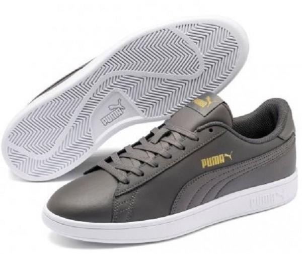 Puma Smash v2 L Herren Sneaker 365215 (Grau-20)