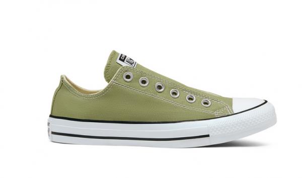 Converse Chuck Taylor All Star Slip Damen Sneaker 167690C (Grün)