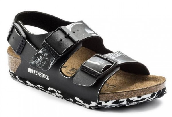 Birkenstock Milano Birko-Flor Kinder normal 1006787(Black)