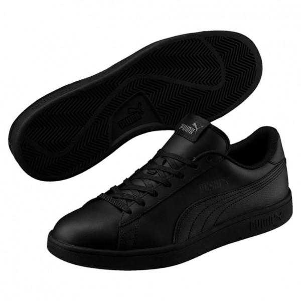 Puma Smash v2 L Herren Sneaker 365215 (black-black 06)