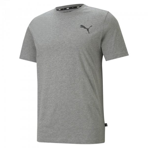 Puma ESS Small Logo Tee Herren T-Shirt 586668 (Grau 53)