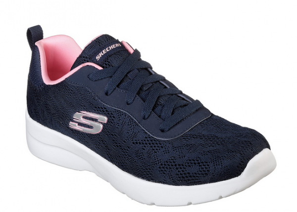 Skechers Dynamight 2.0 - Homespun Damen Sneaker 12963 (Blau-NVPK)