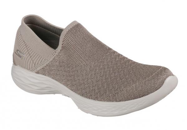 Skechers YOU - Transcend Damen Sneaker 14959 (Beige - TPE)