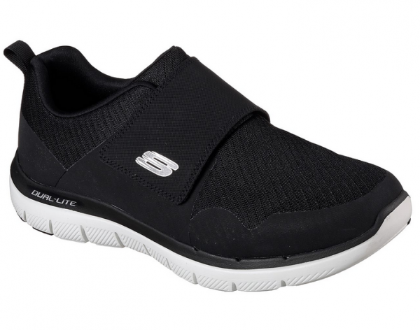 Skechers Flex Advantage 2.0 Gurn Herren Sneaker 52183 (Schwarz-BKW)