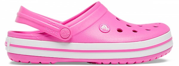 Crocs Crocband Clogs (Electric Pink/White)