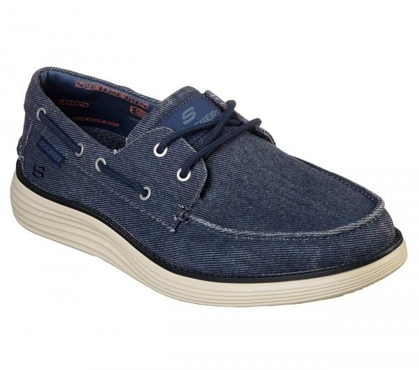Skechers Status 2.0 - Lorano Herren Sneaker 65908 (Blau-NVY)