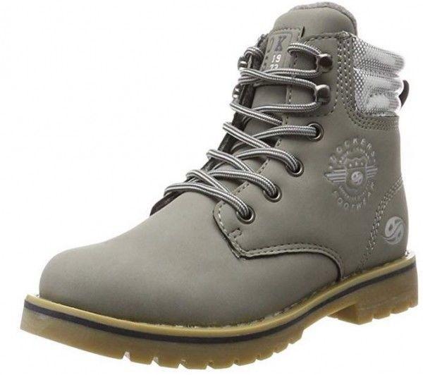 Dockers Kinder Stiefel 41EN702-630210 (Grau)