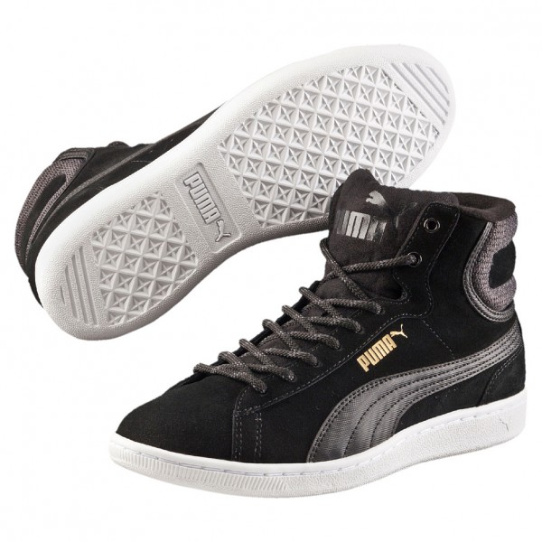 Puma Vikky Mid Twill SFoam (black-puma 03)