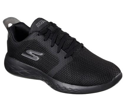 Skechers GOrun 600 - Refine Herren Sneaker 55061(Schwarz-BBK)
