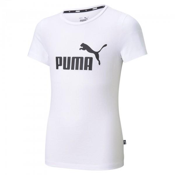 Puma ESS Logo Tee G Kinder T-Shirt 587029 (Weiß 02)