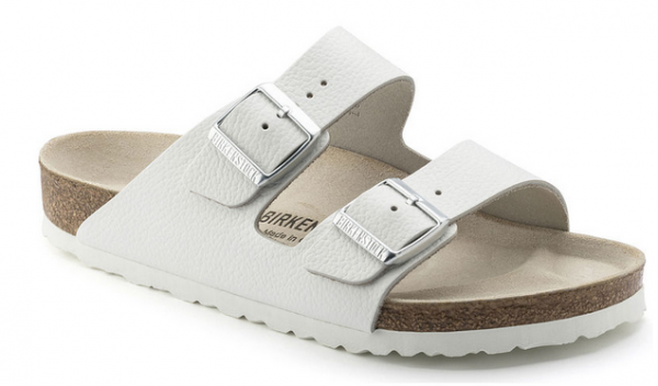 Birkenstock ARIZONA Leder normal Sandale 0051131 (weiß)